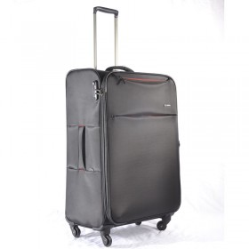TROLLEY CASE 4 WHL BLACK