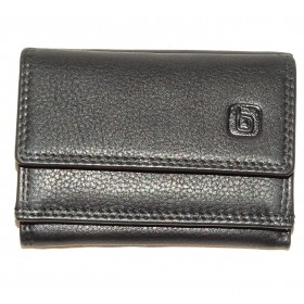 6667ALPBLK MINI TRIFOLD WALLET